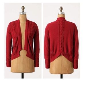 🆕{Listing}Anthro Guinevere Shorty Stitch Cardigan